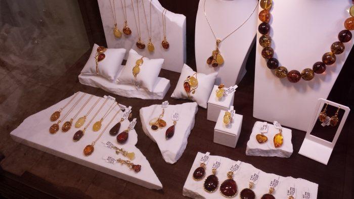 warsawjewelryFIA-Damber琥珀のお土産