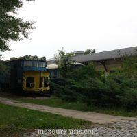 夏のワルシャワ鉄道博物館