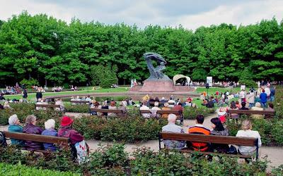 lazienkiワルシャワワジェンキ公園