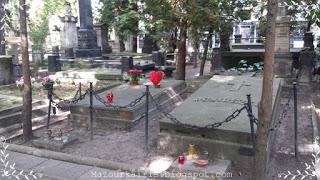 ショパンの両親とスタニスワフモニュシュコさんのお墓