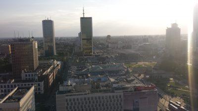 ワルシャワ観光文化科学宮殿展望台