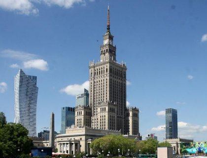 ワルシャワ文化科学宮殿観光