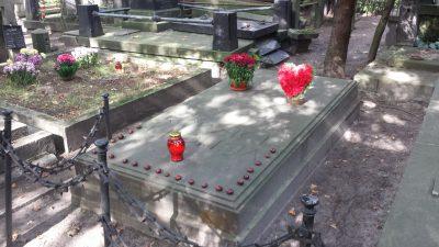 ショパンの両親お墓