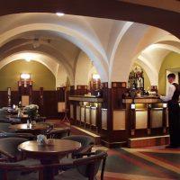 クラクフ景色のいいレストラン