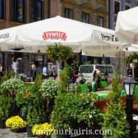 ワルシャワ旧市街建物歴史広場