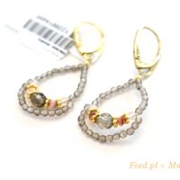 warsawjewelryポーランド琥珀イヤリング