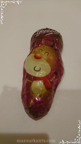 クリスマスフライトチョコレート