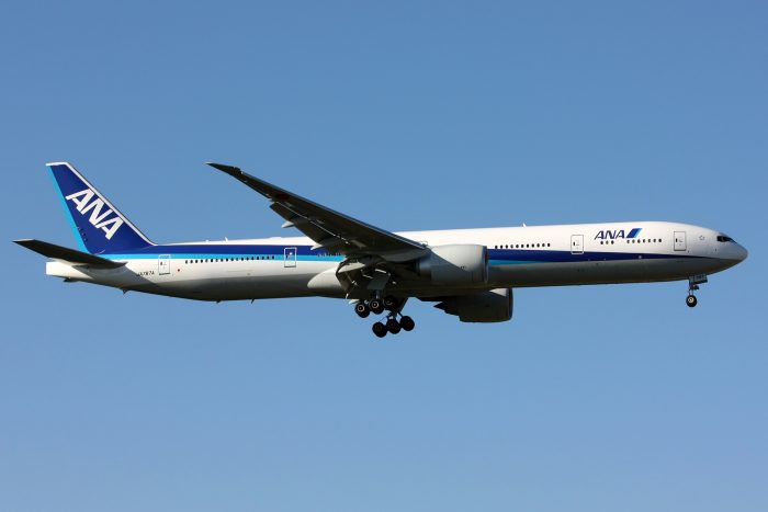 ANA飛行機ロゴ