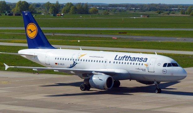 ルフトハンザ航空飛行機ロゴ