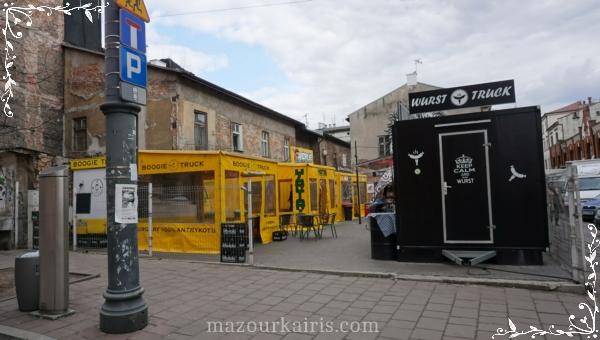 クラクフ観光カジミエシュ地区ユダヤ人街