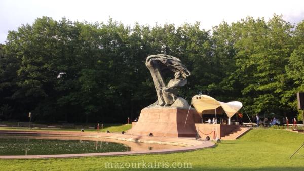 春のワルシャワワジェンキ公園