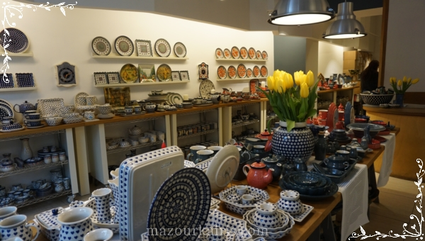 ポーランドクラクフボレスワヴィエツ陶器