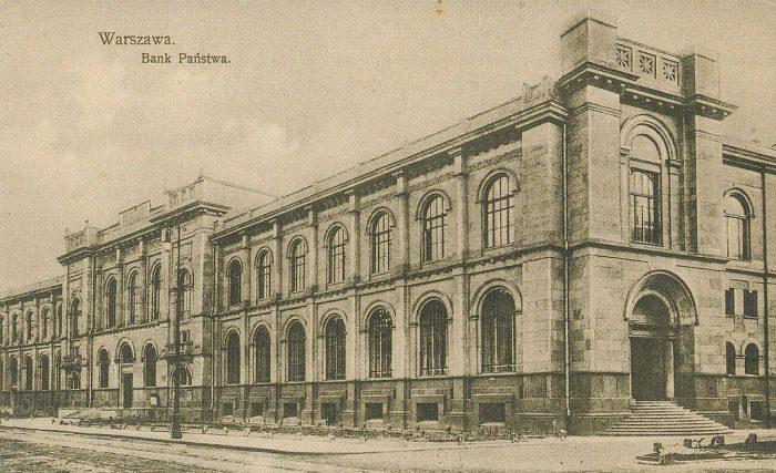1914年頃のポーランド銀行
