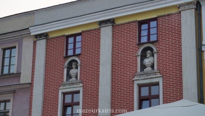 ザモシチ観光旧市街リンクハウス