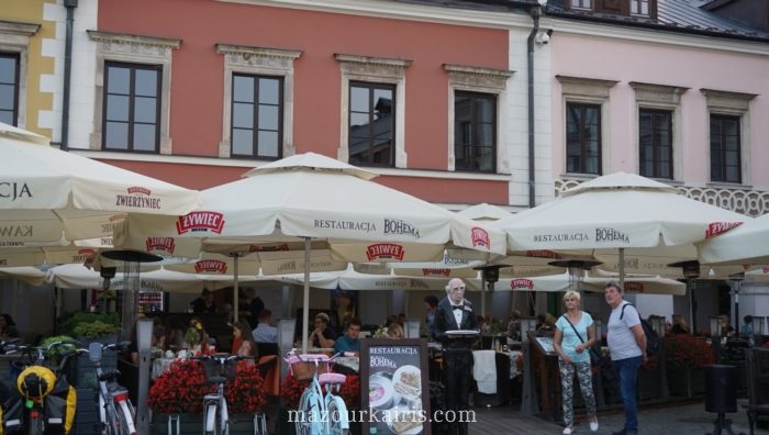 ザモシチ観光旧市街
