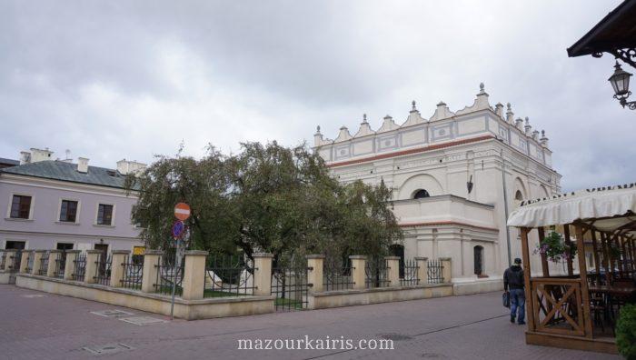 ザモシチ観光旧市街シナゴーグ