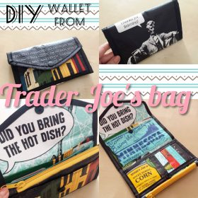 DIYwallettraderjoesshoppingbag