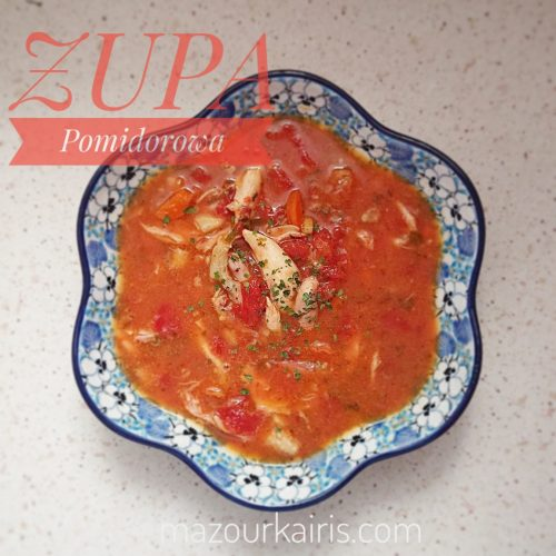 ポーランド料理トマトスープ