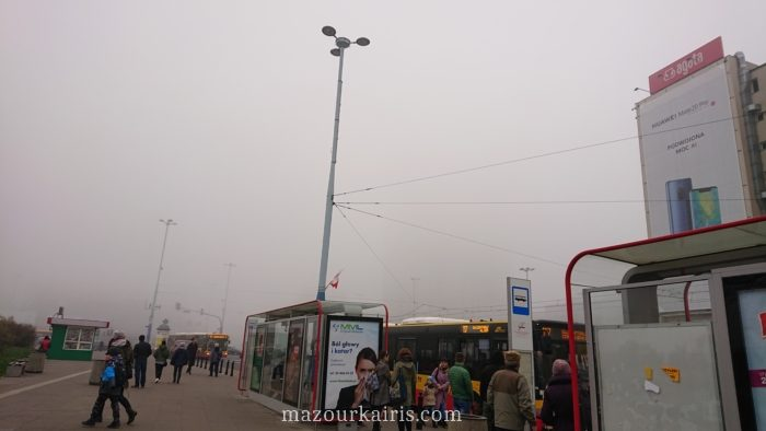 11月ワルシャワ霧