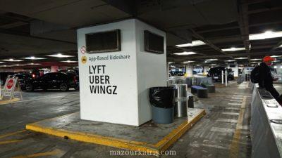 シアトル空港Uber
