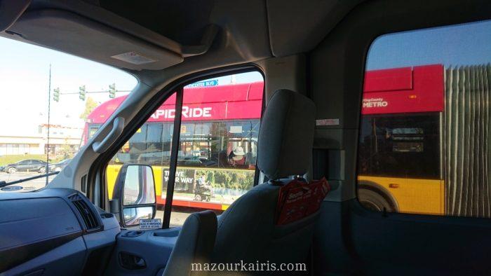 シアトル観光バス