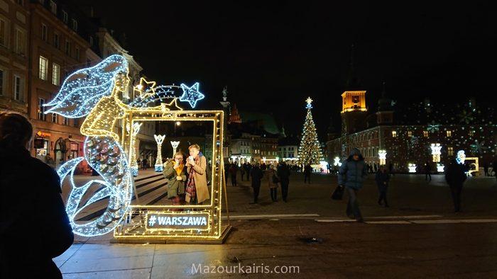 ワルシャワクリスマスイルミネーション2018