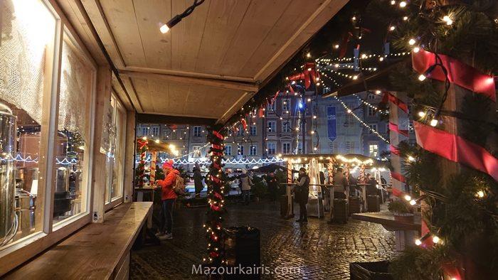 ワルシャワクリスマスマーケットイルミネーション2018旧市街