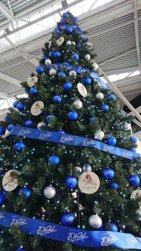 ワルシャワクリスマスマーケットイルミネーション2018空港