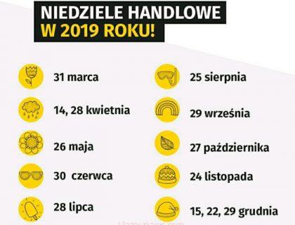ポーランド日曜日の営業日カレンダー