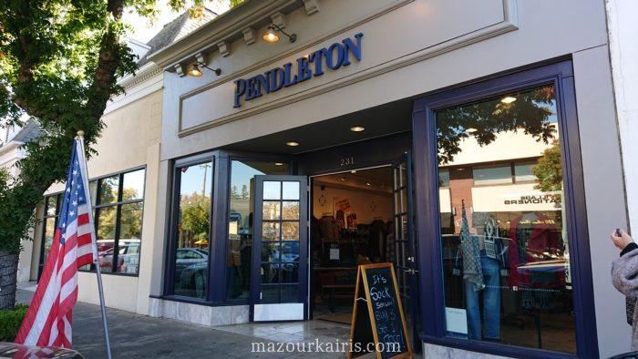 サンフランシスコ観光ペンドルトン