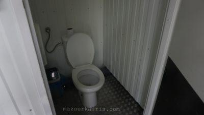 トレブリンカ強制収容所、行き方、トイレ