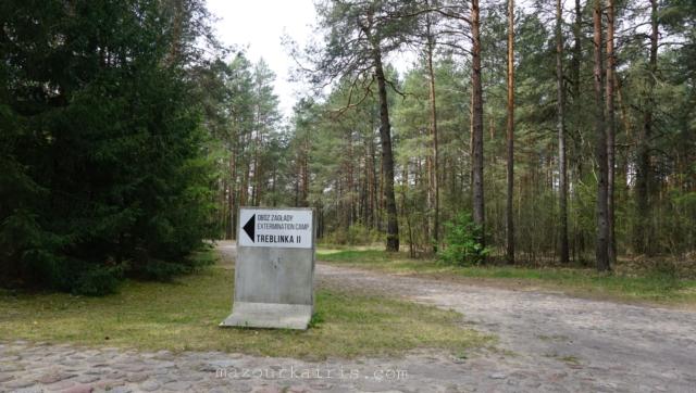 トレブリンカ強制収容所、行き方、内容