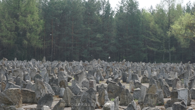 トレブリンカ強制収容所、行き方、ユダヤ人