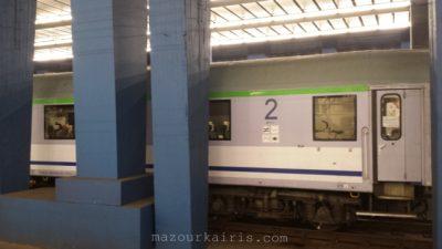 PKPintercityポーランド長距離列車インターシティ2等車車内室内設備