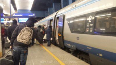 PKPintercityポーランド長距離列車インターシティペンドリーノ