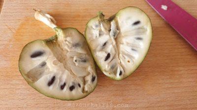 チェリモヤ-カスタードアップルの食べ方と味