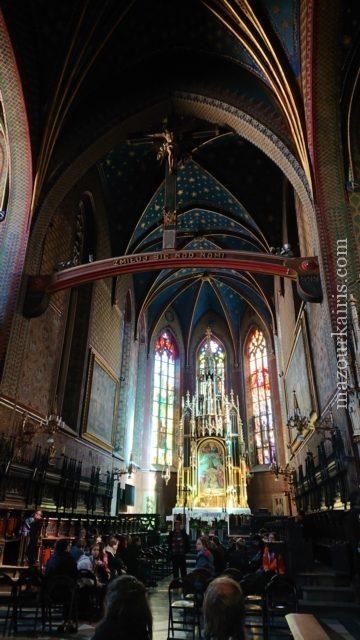 秋のクラクフ旧市街観光みどころ教会