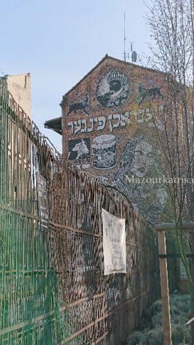 クラクフのユダヤ人街カジミエシュ地区
