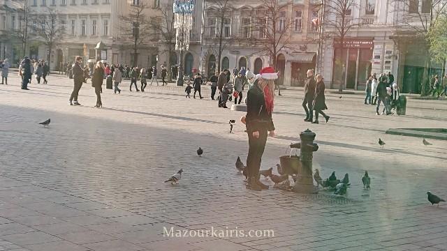 クラクフのクリスマスマーケット2020馬車の料金