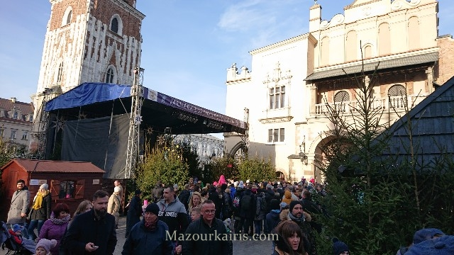 クラクフのクリスマスマーケット2020