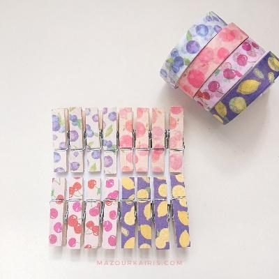 DIY-washi-tape-woodenclip