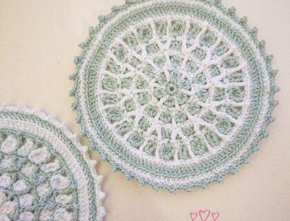 ドイリー無料編み図free-crochet-diagram-mint