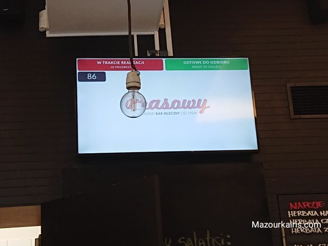 ミルクバーBarmlecznyポーランドワルシャワ大衆食堂行き方