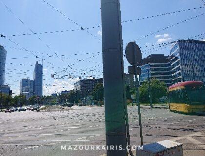 夏のワルシャワ2020年8月観光PW