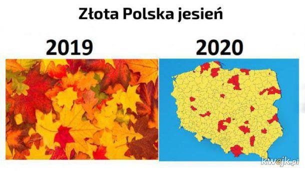 ポーランドのコロナ黄金の秋