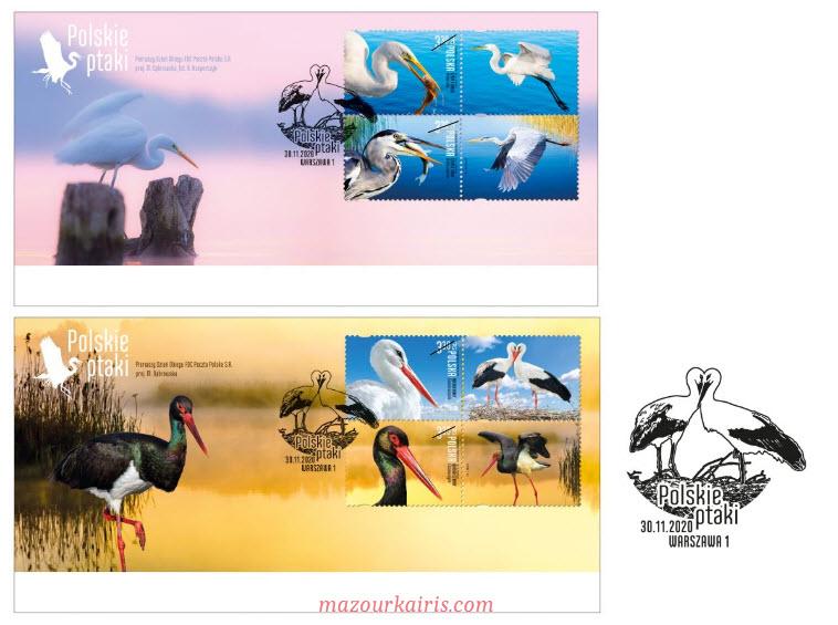 ポーランドの切手pocztapolska-znaczki