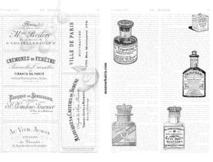 free-printable-scrapbooking-collage-paper-by-KAORI無料印刷デザインペーパー