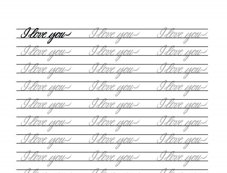 free-printable-calligraphy-worksheets
