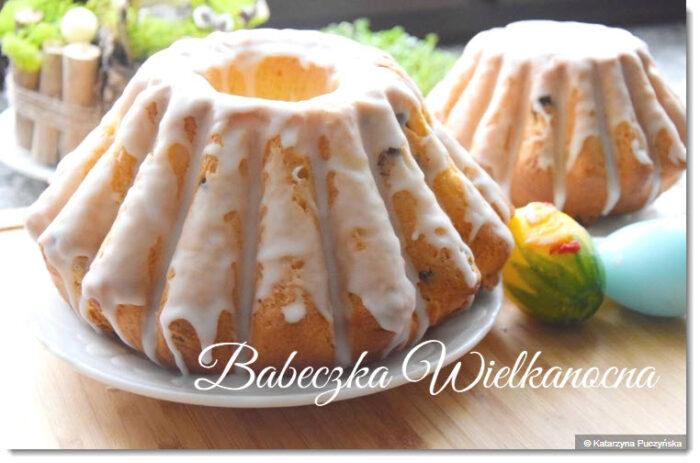 ポーランドのイースターの食べ物バベチュカbabeczkaケーキ