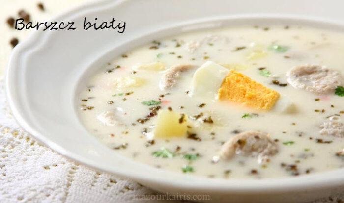ポーランドのイースターwielkanoc食べ物バルシチビャウィbarszczbialy